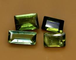 1.60 Crt Natural  Tourmaline Faceted Gemstone.( AB 96)