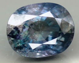 Big UNHEATED 14.89 ct.  Natural Earth Mined Sapphire - IGI CERTIFIED