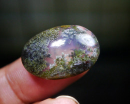 16.45 CT UNTREATED Beautiful Indonesian Moss Agate Picture