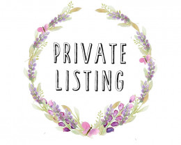 Private listing to stavsour