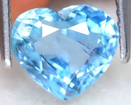 Aquamarine 1.70Ct Heart Cut Natural Aquamarine A0307