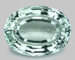 9.06 cts Un Heated  Sky Blue Color Natural Aquamarine Loose Gemstone