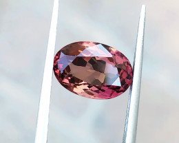 2.30 Ct Natural Bi Color Transparent Rubellite Tourmaline Gemstone