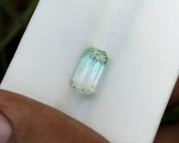 2.15 Ct Natural Bi Color Transparent Tourmaline Gemstone