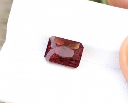 4.50 Ct Natural Red Transparent Rubellite Tourmaline Gemstone