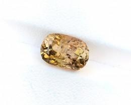 3.75 Ct Natural Golden Transparent Tourmaline Gemstone