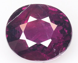 3.44 Cts Grape Garnet Awesome Color ~ Africa Gp14