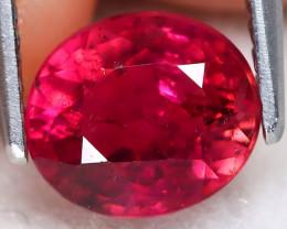 Pink Tourmaline 1.70Ct Oval Cut Vivid Pink Tourmaline B0308