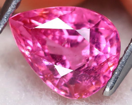 Pink Tourmaline 1.45Ct Pear Cut Vivid Pink Tourmaline B0318