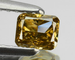 0.36 Cts Natural Champagne Diamond Octagon Africa