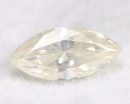 White Daimond 0.44Ct Untreated Genuine Fancy Diamond A0404