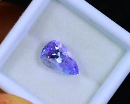 Tanzanite 2.59cts Natural Clear Purple Blue Tanzanite / KL251