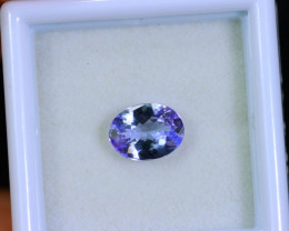 Tanzanite 1.15cts Natural Clear Purple Blue Tanzanite / KL258