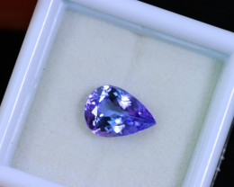 Tanzanite 1.78cts Natural Clear Purple Blue Tanzanite / KL259