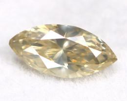 White Daimond 0.38Ct Untreated Genuine Fancy Diamond B0417