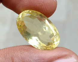 13ct LEMON QUARTZ Top Quality Gemstone Natural Untreated VA2330