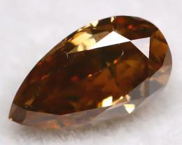0.23Ct Natural Untreated Fancy Cognac Diamond BM0419