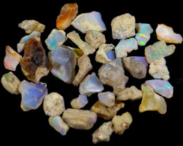 96Cts Ethiopian Welo Rough Opal Parcel Lot