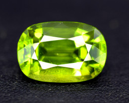 Peridot, 9.30 Ct Top Quality Oval Shape Peridot Gemstone