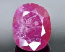 2.63 Crt  Ruby Faceted Gemstone (Rk-72)