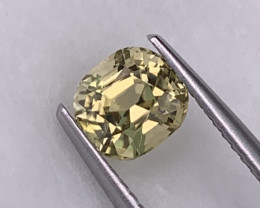 1.11 Cts Canary Yellow Top Quality Natural Tourmaline Master Cut