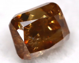 0.31Ct Natural Untreated Fancy Champagne Diamond BM0431