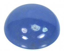 ~AAA~ 19.45 Cts Natural Lavender Chalcedony Round Cabochon Turkey