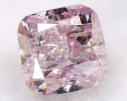 2.3mm Pink Diamond Natural Untreated Fancy Diamond AT0563