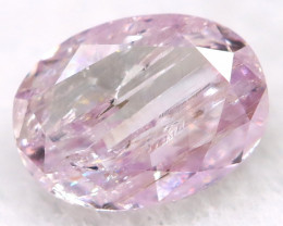 4.2mm Pink Diamond Natural Untreated Fancy Diamond AT0565