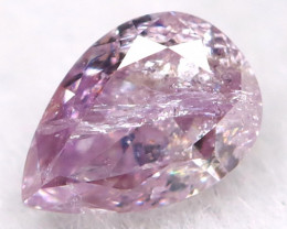 3.3mm Pink Diamond Natural Untreated Fancy Diamond AT0566