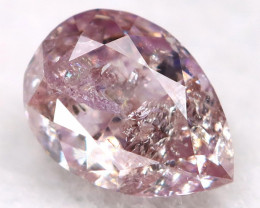 4.5mm Pink Diamond Natural Untreated Fancy Diamond AT0567