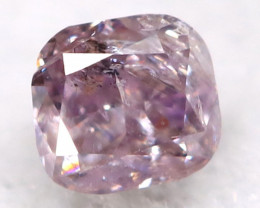 2.2mm Pink Diamond Natural Untreated Fancy Diamond AT0568