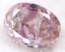 3.1mm Pink Diamond Natural Untreated Fancy Diamond AT0570