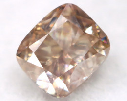 3.6mm Champagne Pink Diamond Natural Untreated Fancy Diamond AT0572