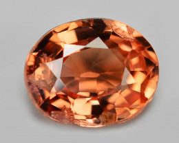 Padparadscha Sapphire 0.33 Cts Amazing Rare Natural Fancy Orange Red Loose