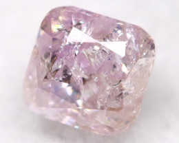 2.7mm Pink Diamond Natural Untreated Fancy Diamond AT0574