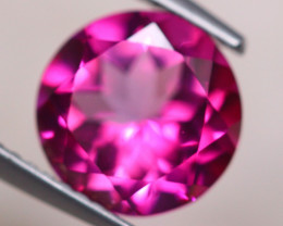 3.40Ct Natural Pink Topaz Round Cut Lot B2295