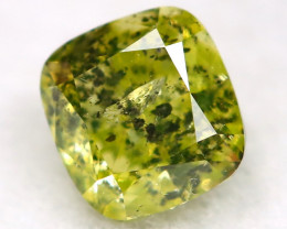0.25Ct Greenish Yellow Diamond Natural Untreated Fancy Diamond AT0578