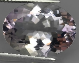 8.30 CTS~FINE QUALITY_LUSTROUS-NATURAL ROSE~DE~FRANCE AMETHIYST -OVAL _CUT!