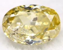 0.30Ct Yellow Diamond Natural Untreated Fancy Diamond AT0582