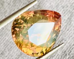 Amazing big rare  size 10. 98 ct Orange/ yellow  Colors Sapphire Gemstone