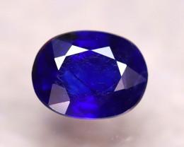 Ceylon Sapphire 2.54Ct Royal Blue Sapphire D0522/A23