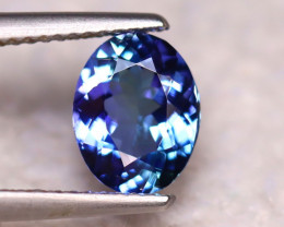 Tanzanite 1.93Ct Natural VVS Purplish Blue Tanzanite  DR289/D8