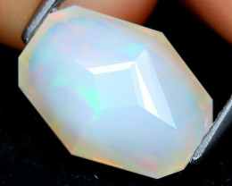 Welo Opal 2.35Ct Master Cut Natural Ethiopian Play Of Color Welo Opal B0517