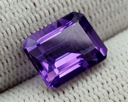3.65CT NATRUAL AMETHYST BEST QUALITY GEMSTONE IIGC01