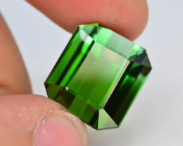 Top Grade 20.6 ct Natural Green Color Tourmaline