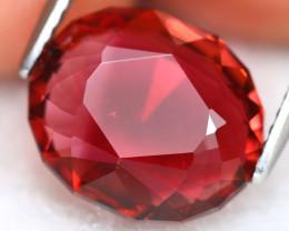 Red Tourmaline 4.37Ct Oval Cut Natural Red Tourmaline A0607