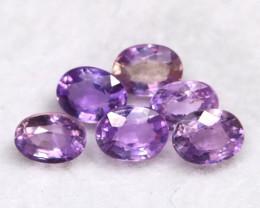 Unheated Sapphire 1.41Ct Natural Purple Sapphire Lot A0613