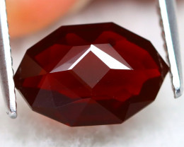 Mexican Cherry Red 1.36Ct Master Cut Natural Cherry Red Fire Opal B0614