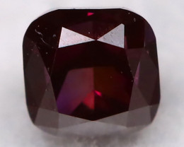 Purple Red Diamond 0.10Ct Natural Fancy Diamond AT0612